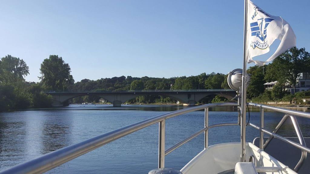 Schifffahrt über die Ruhr