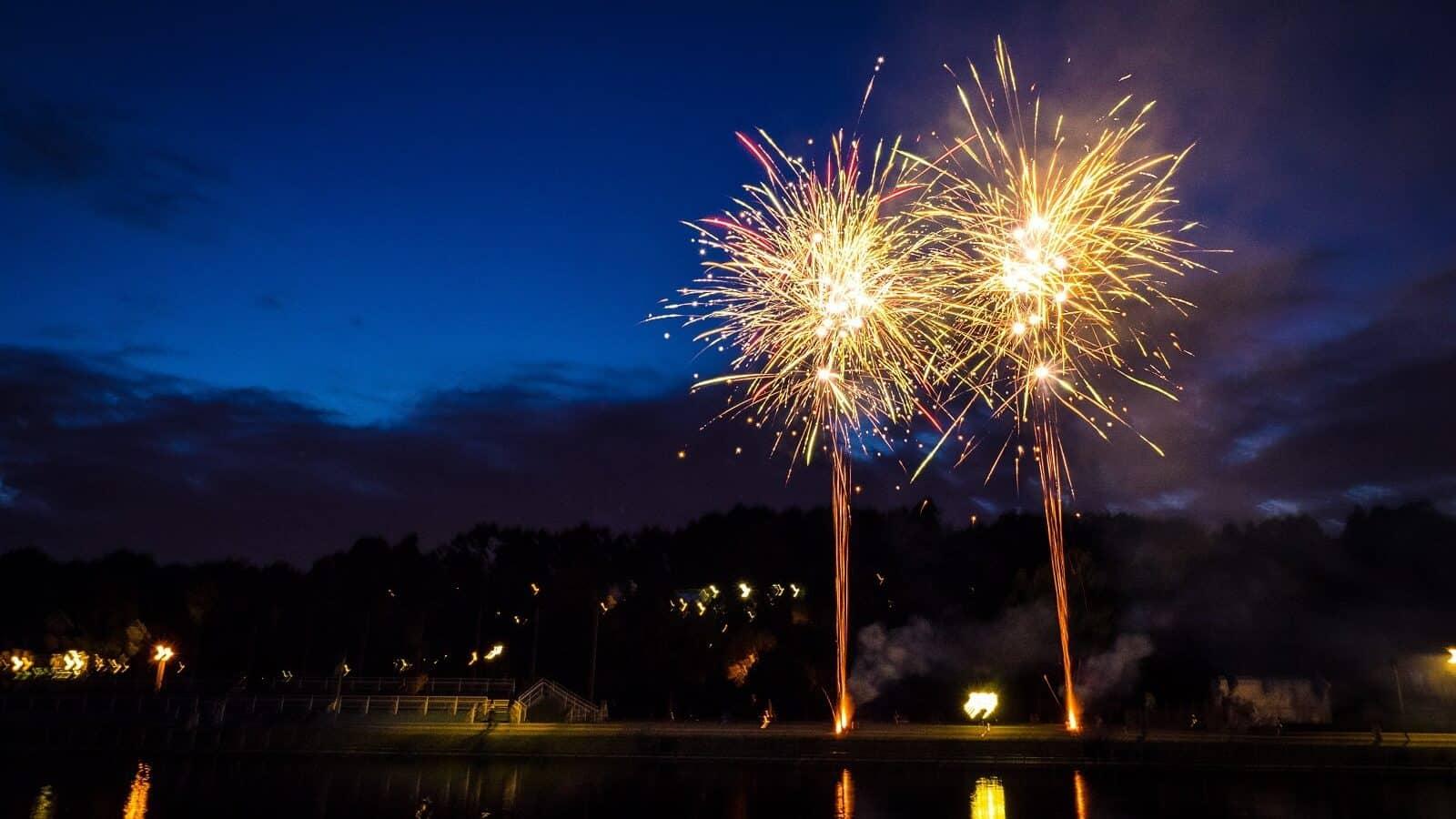 Feuerwerk Crange