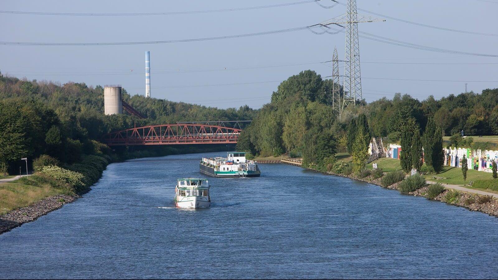 Vom Kanal zum Wasserbahnhof