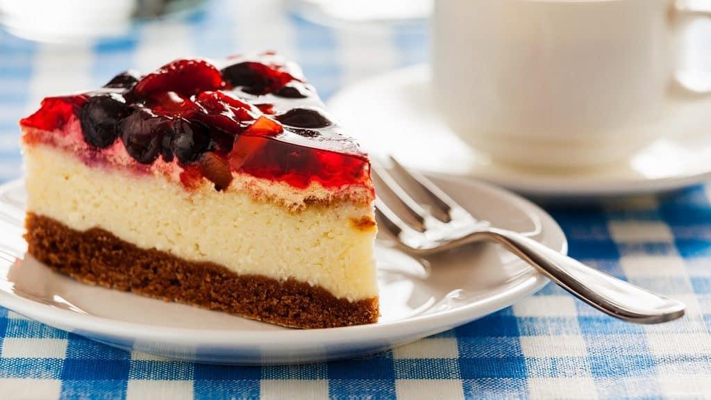 Kuchen auf der Weißen Flotte